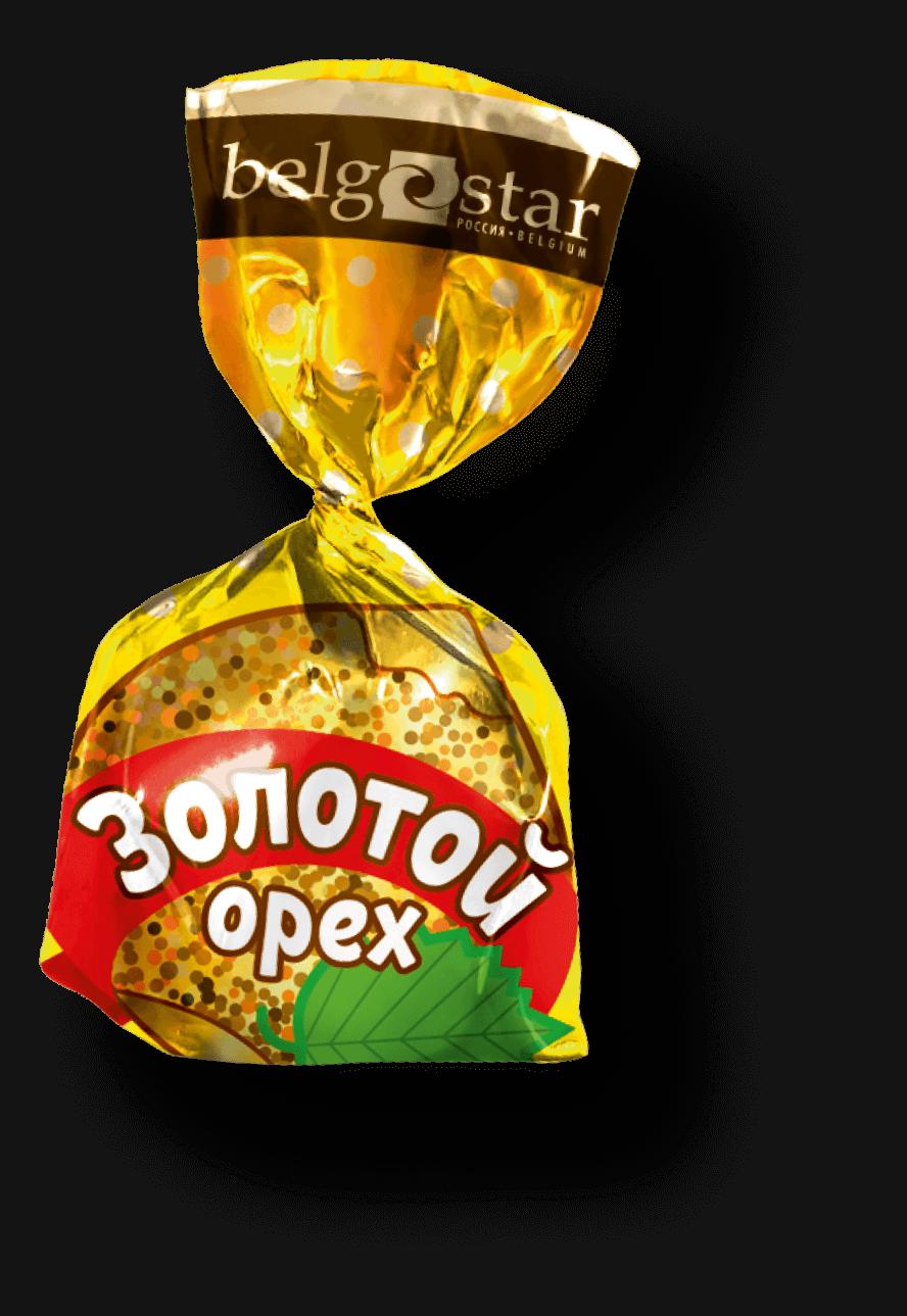 Конфеты Belgostar Золотой орех