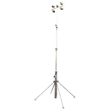 Световая мачта с лебедкой 7 метров
