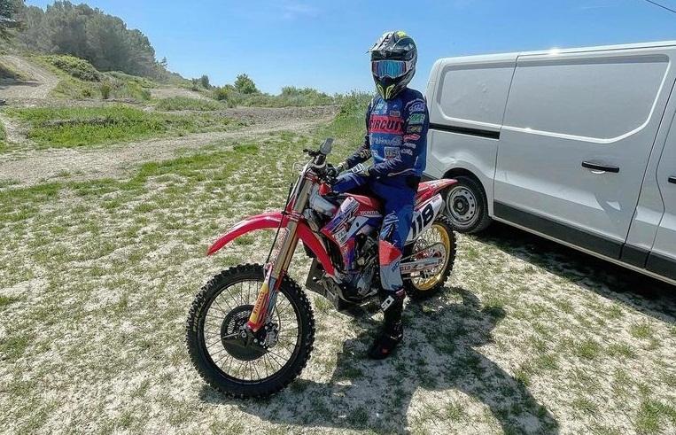 Хаарупа и Рубини возобновили тренировки на мотоцикле