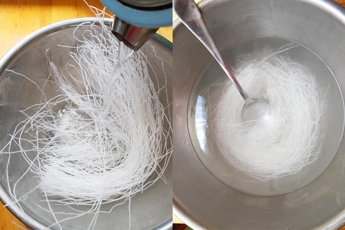 Фунчоза (стеклянная лапша) - ка приготовить? Подробный рецепт с фото.
