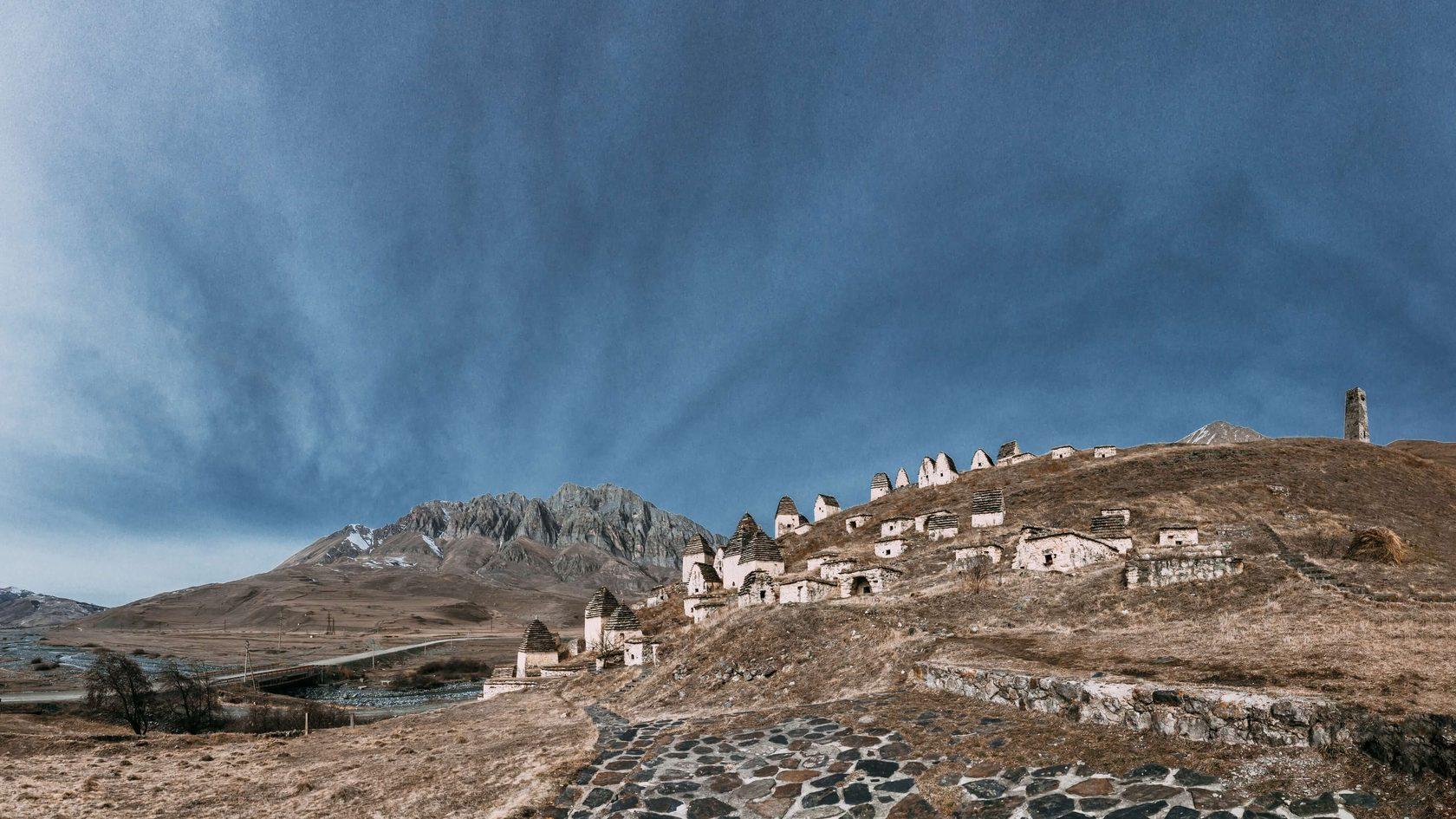 город Мертвых Северная Осетия