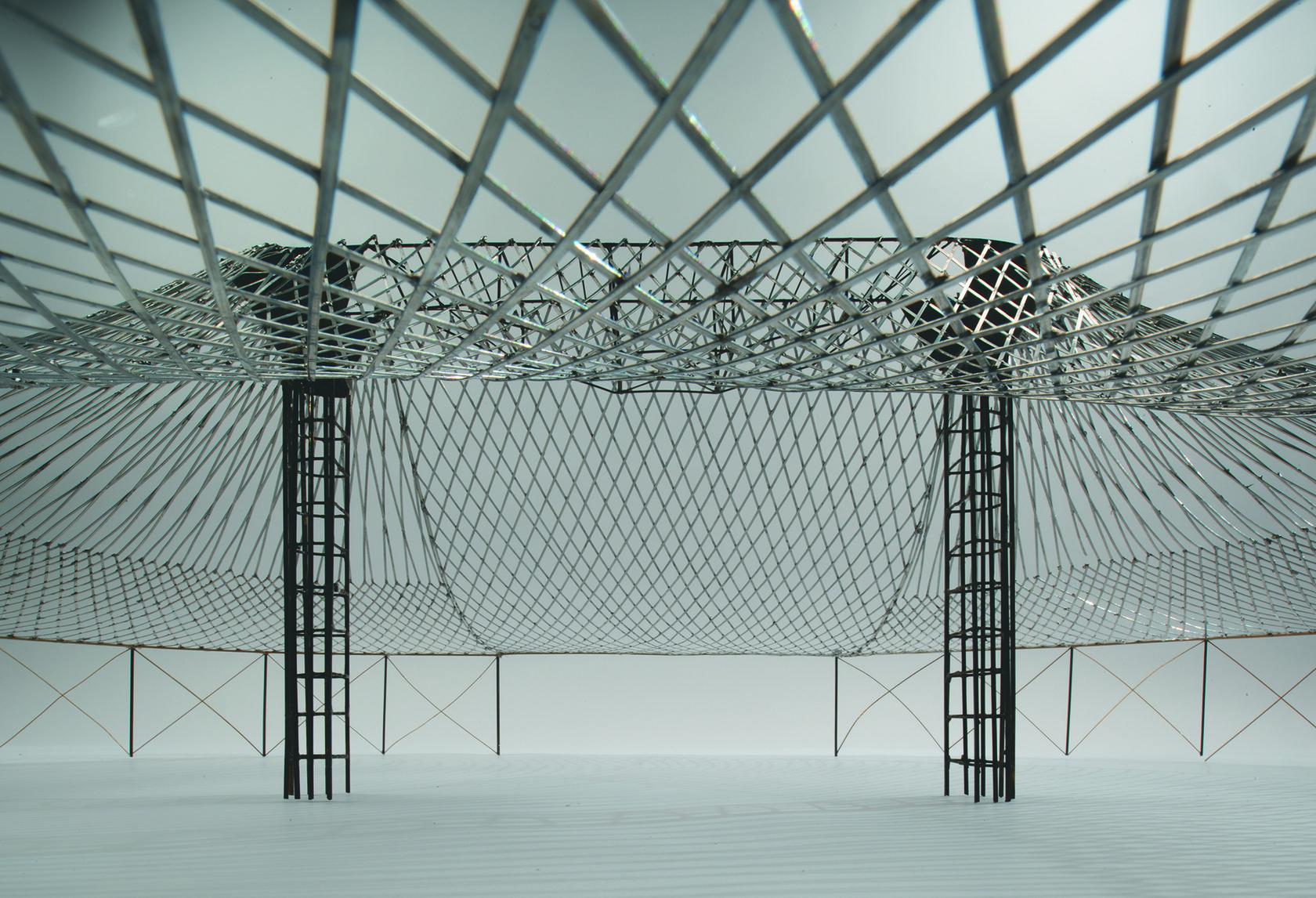 oval pavilion at All-Russia Exhibition in Nizhny Novgorod
