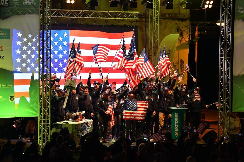 Состав сборных США на ISDE 2021 года
