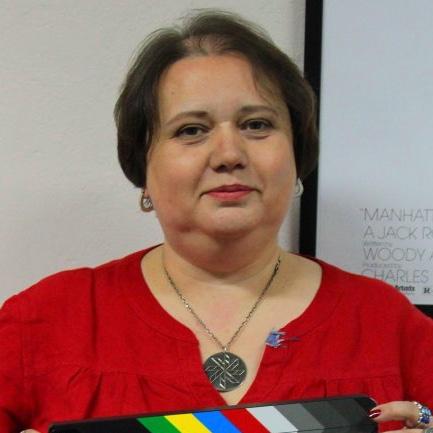 Леся Волошин лектор Украинской Киношколы Ukrainian Film School