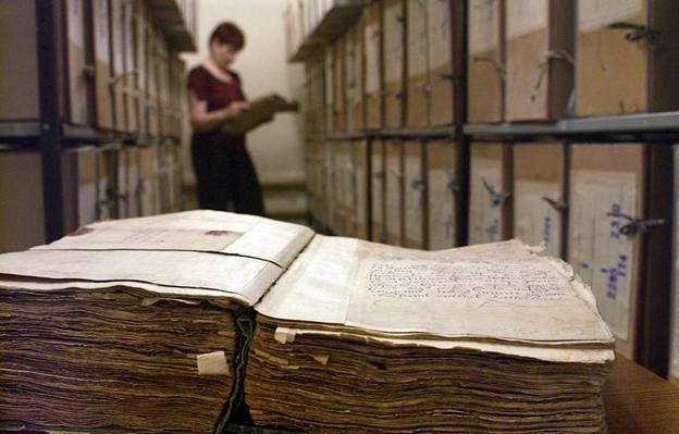 Архивохранилище в Национальном историческом архиве Беларуси