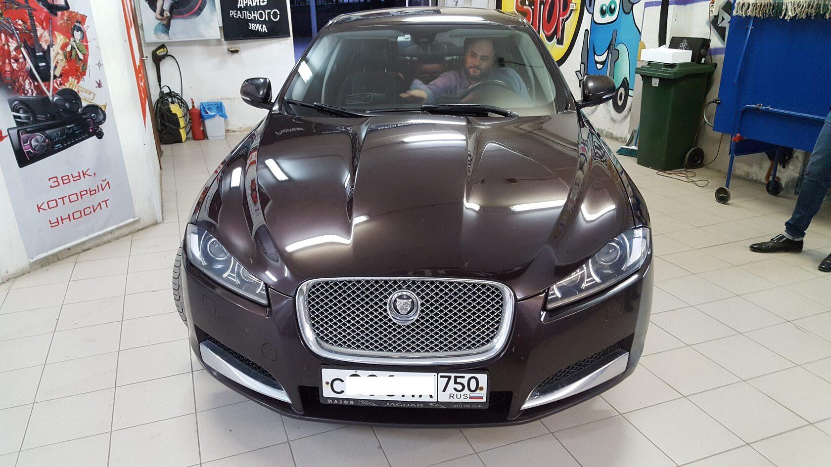 jaguar xf 2 автозвук