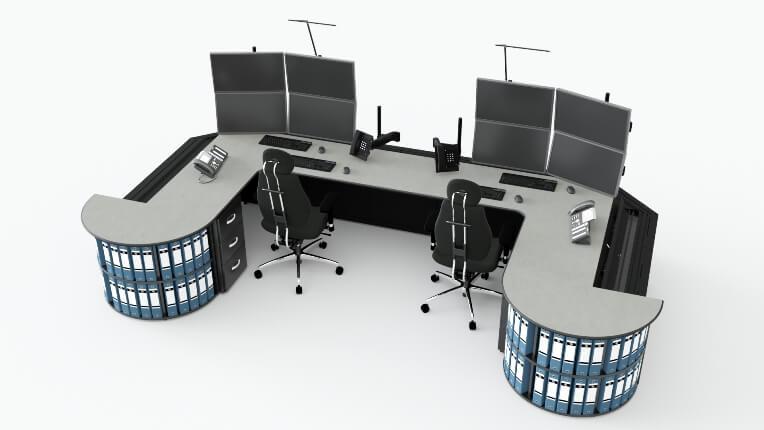 Диспетчерская мебель для ПАО 'Т Плюс'