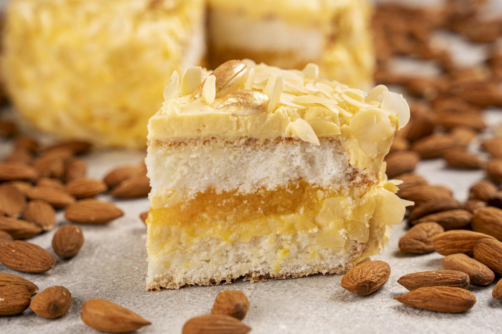 gluten sugar lactose free almond orange cake