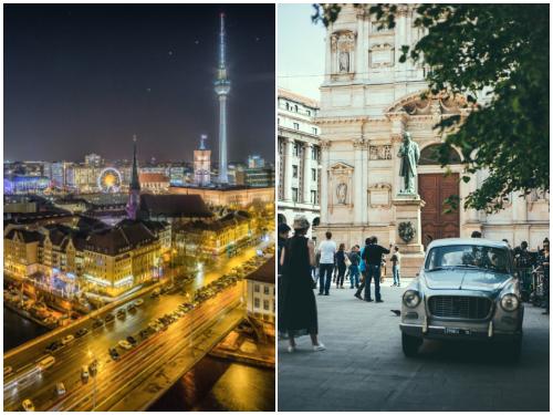 Берлин и Милан в октябре