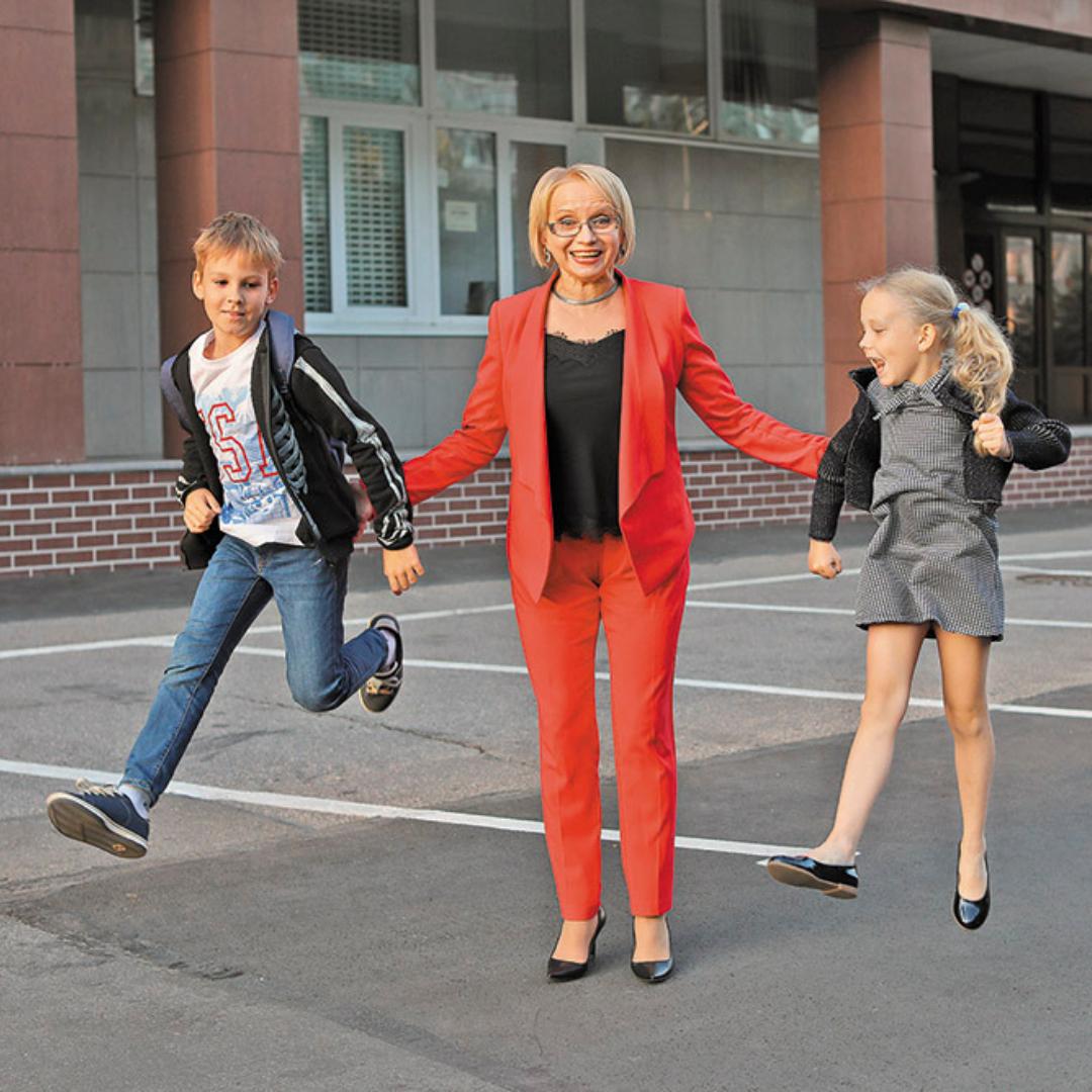 Ирина МАЗУРКЕВИЧ со внуками