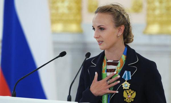 Речь Марии Шурочкиной на церемонии награждения в Кремле