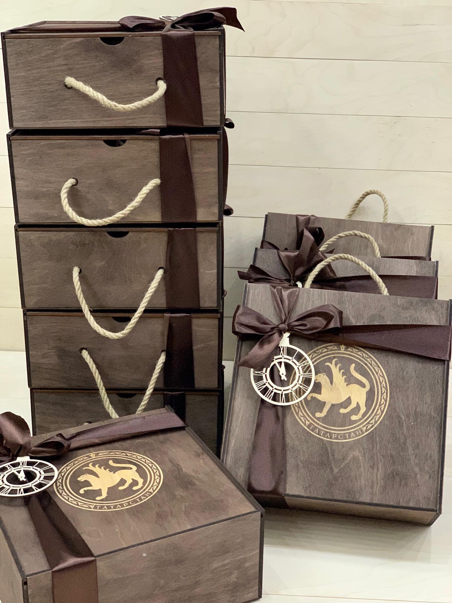 подарочные боксы с гербом Татарстана