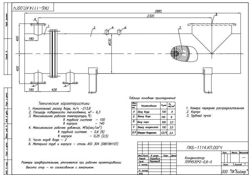 Кожухотрубный конденсатор Alfa Laval CPS 335 Мурманск