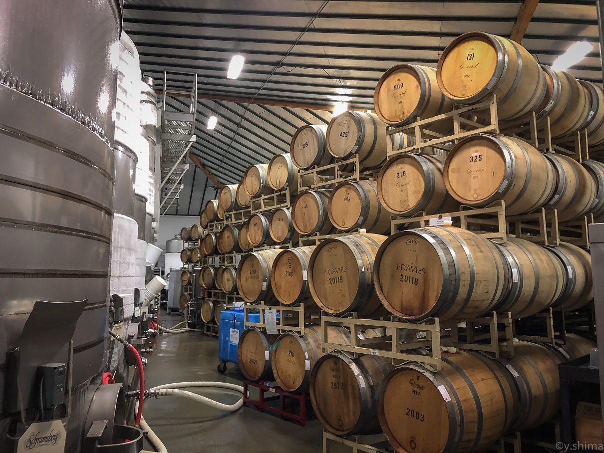 80 stainless steel tanks and 300 barrels