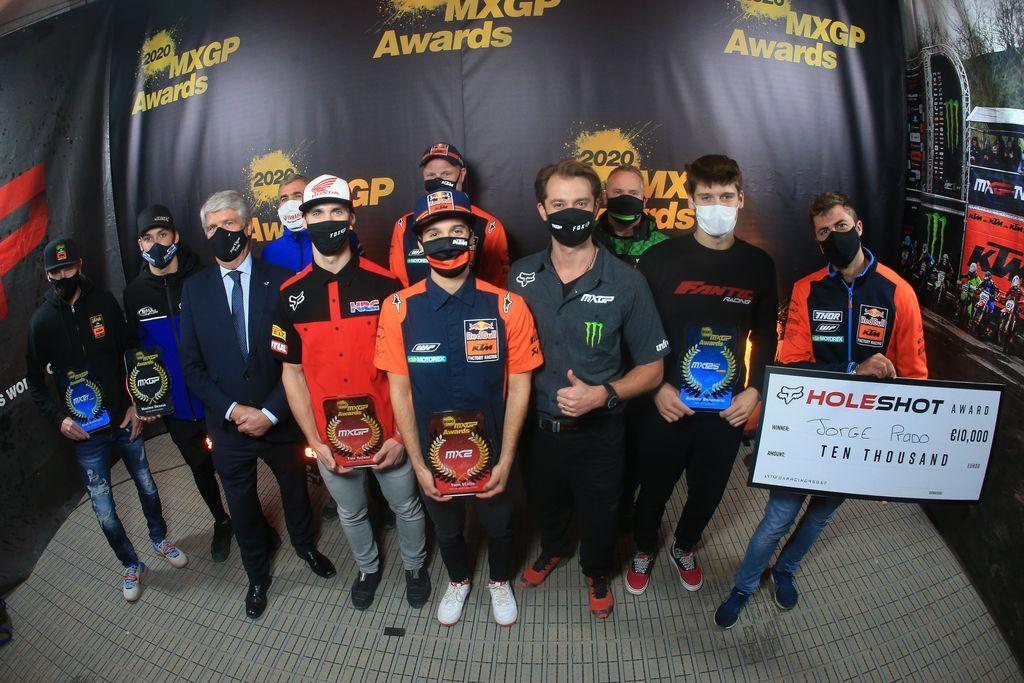 Церемония награждения MXGP Awards 2020