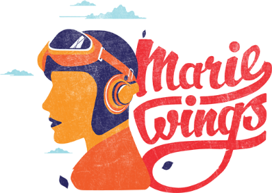 Marie Wings Logo