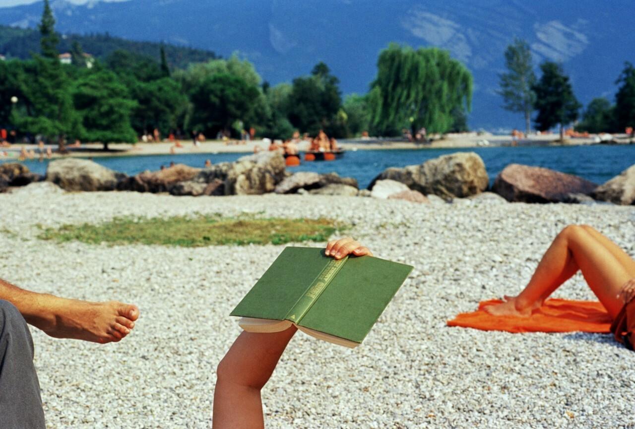 Озеро Гарда, Италия, 1999. Фотограф Мартин Парр