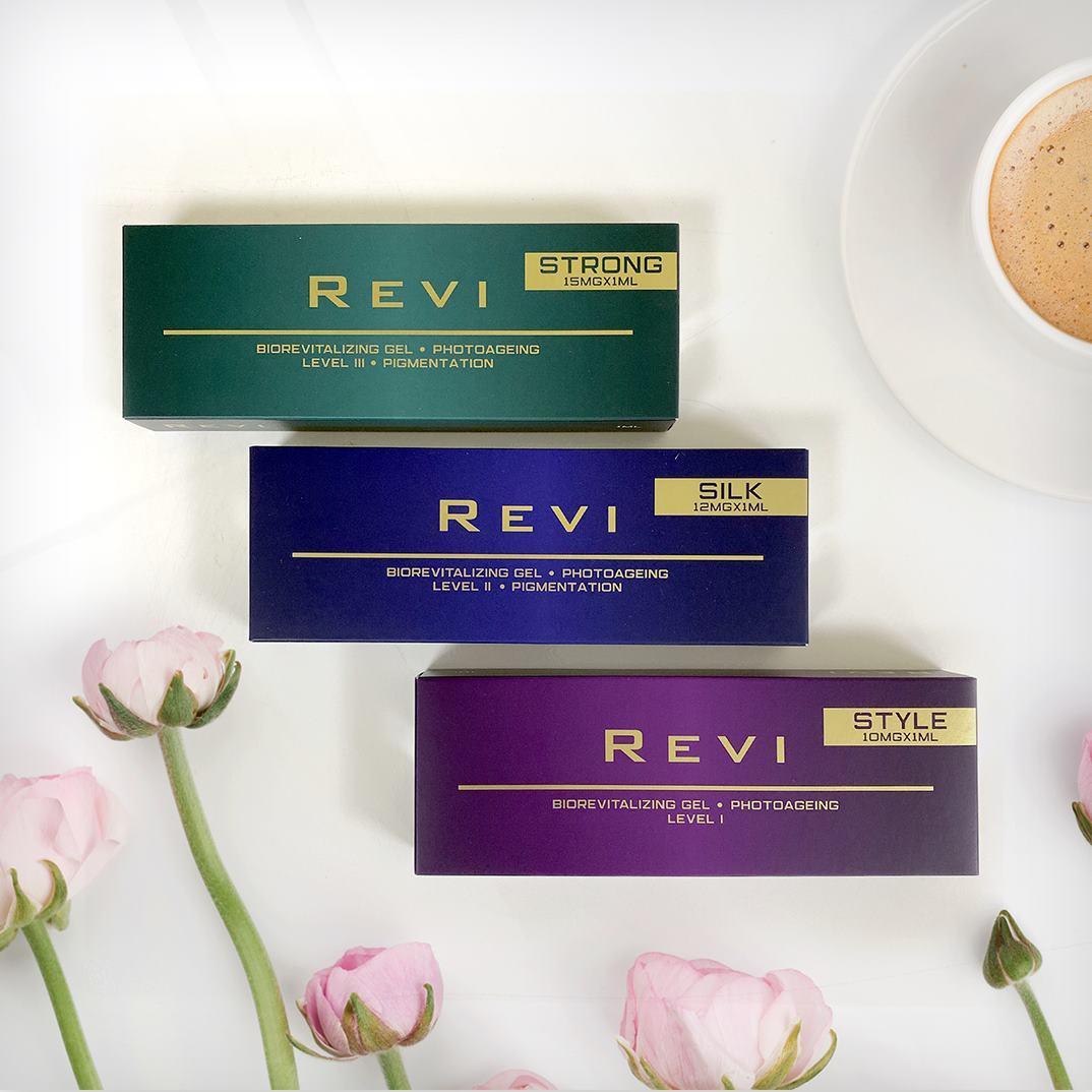 Новые препараты для биоревитализации Revi