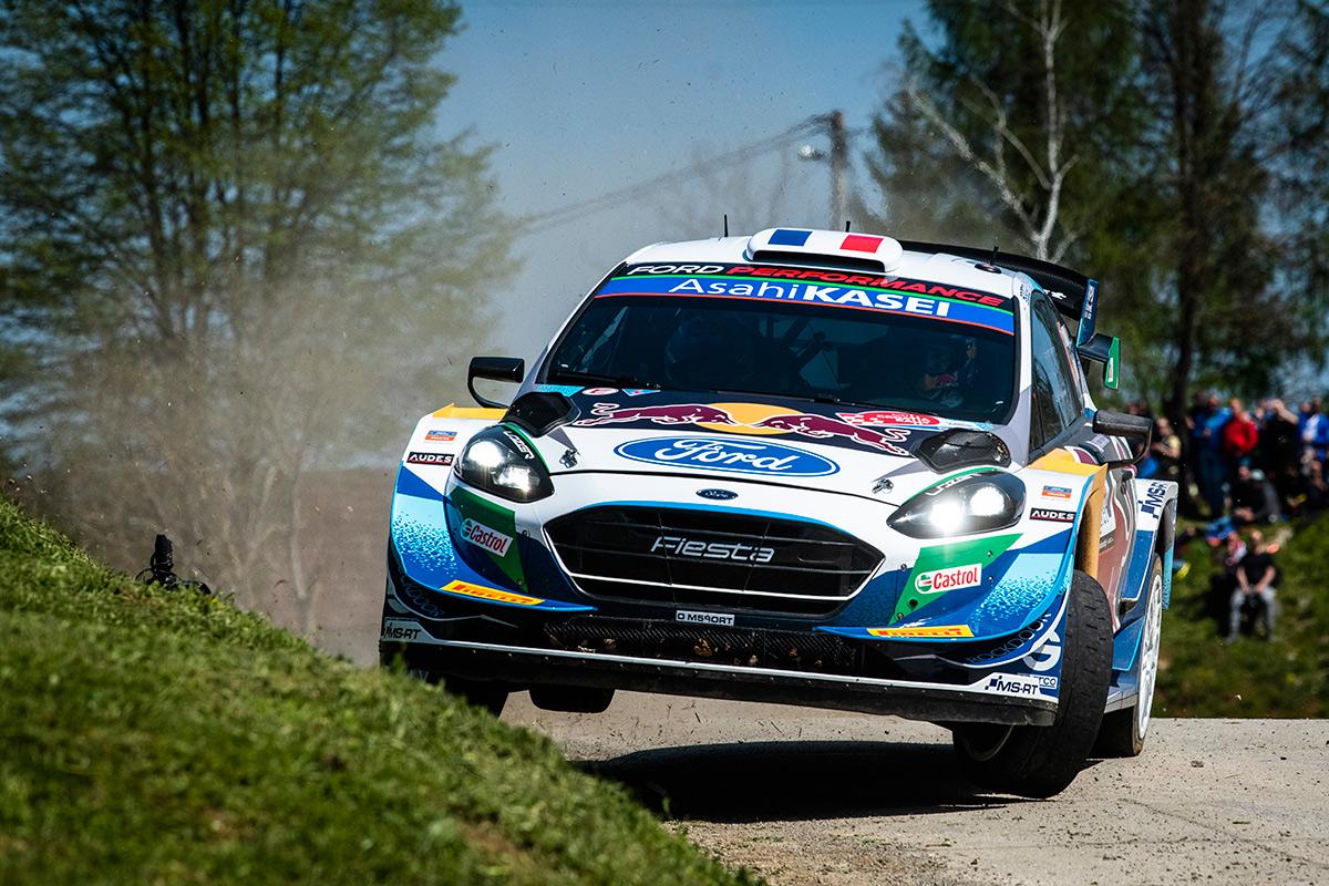 Адриен Фурмо и Рено Жамуль, Ford Fiesta WRC, ралли Хорватия 2021