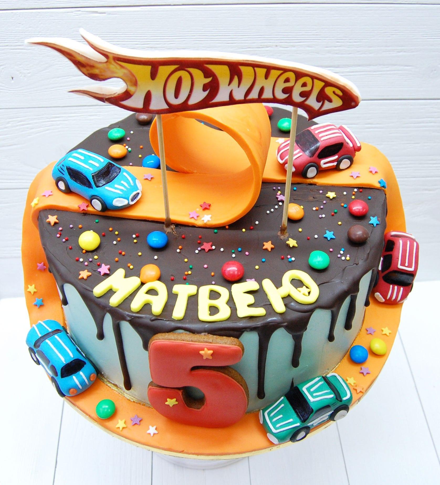 Картинки тортики с днем рождения для мальчика