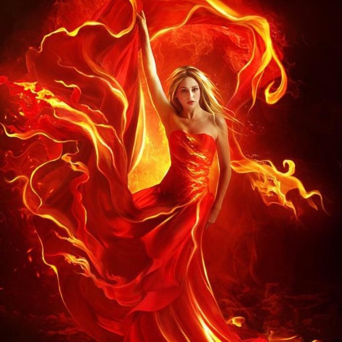 Женские имена стихия которых огонь