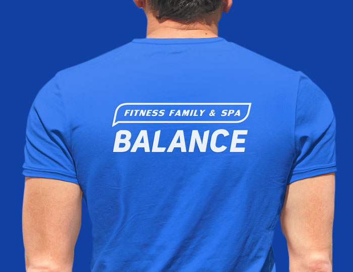 Пример логотипа - фитнес-клуб «Balance»