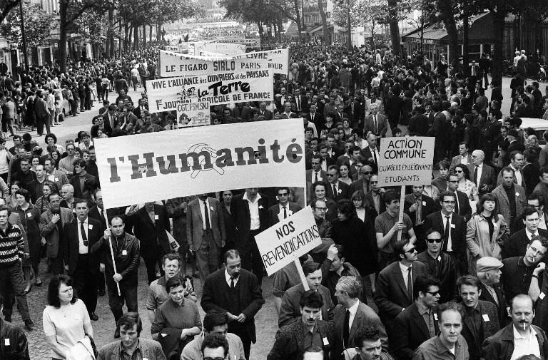 Травневі події 1968 р. у Франції, Фотографія