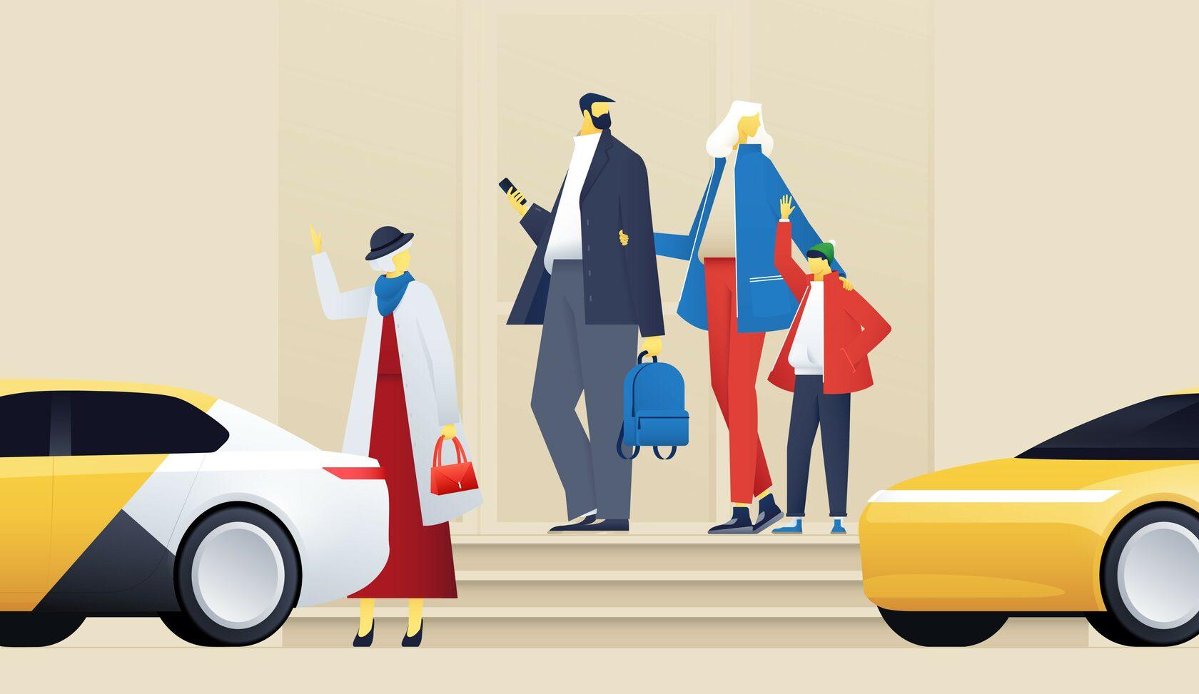 яндекс такси +по делам