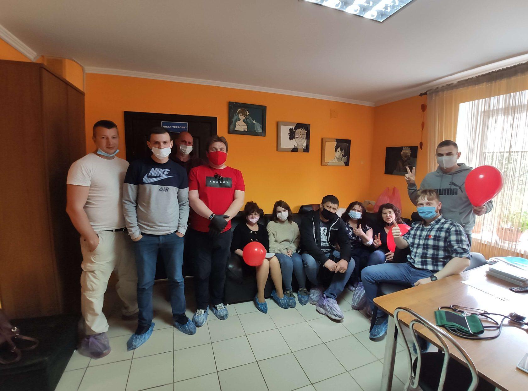 Партия Шария в Одессе организовала день донора