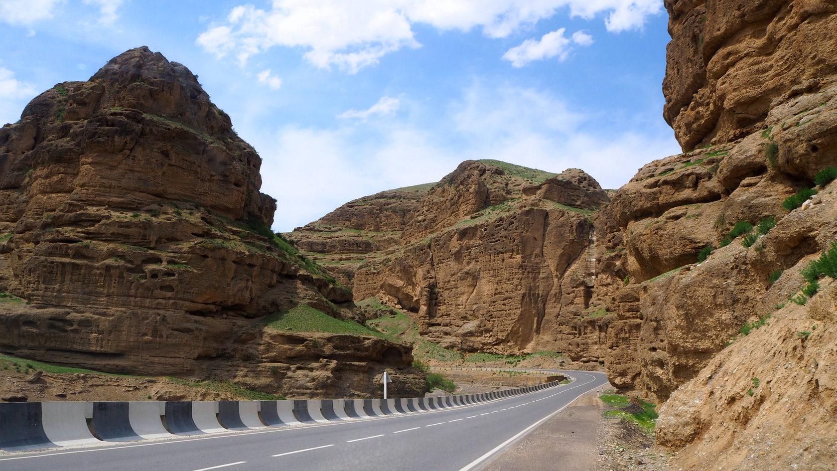 дорога в Исфану