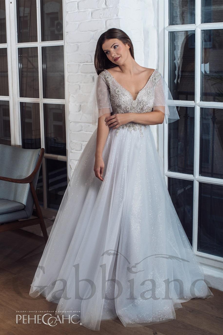 4cff0d71305 1 фото. Keyra. Дымчатое свадебное платье ...