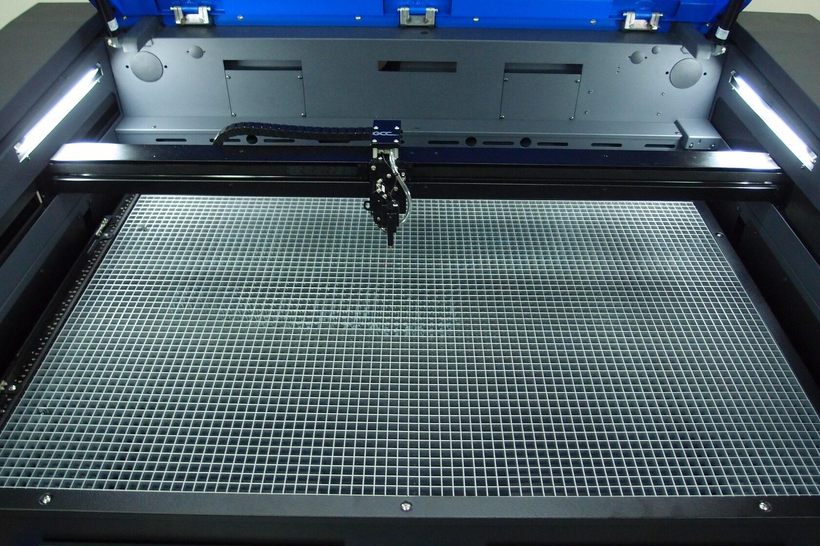 Pracovní plocha laseru S400