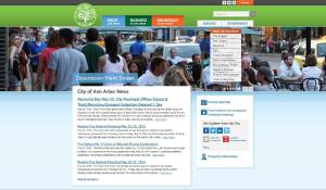 Сайт университетского городка для разных департаментов | Sobakapav.ru
