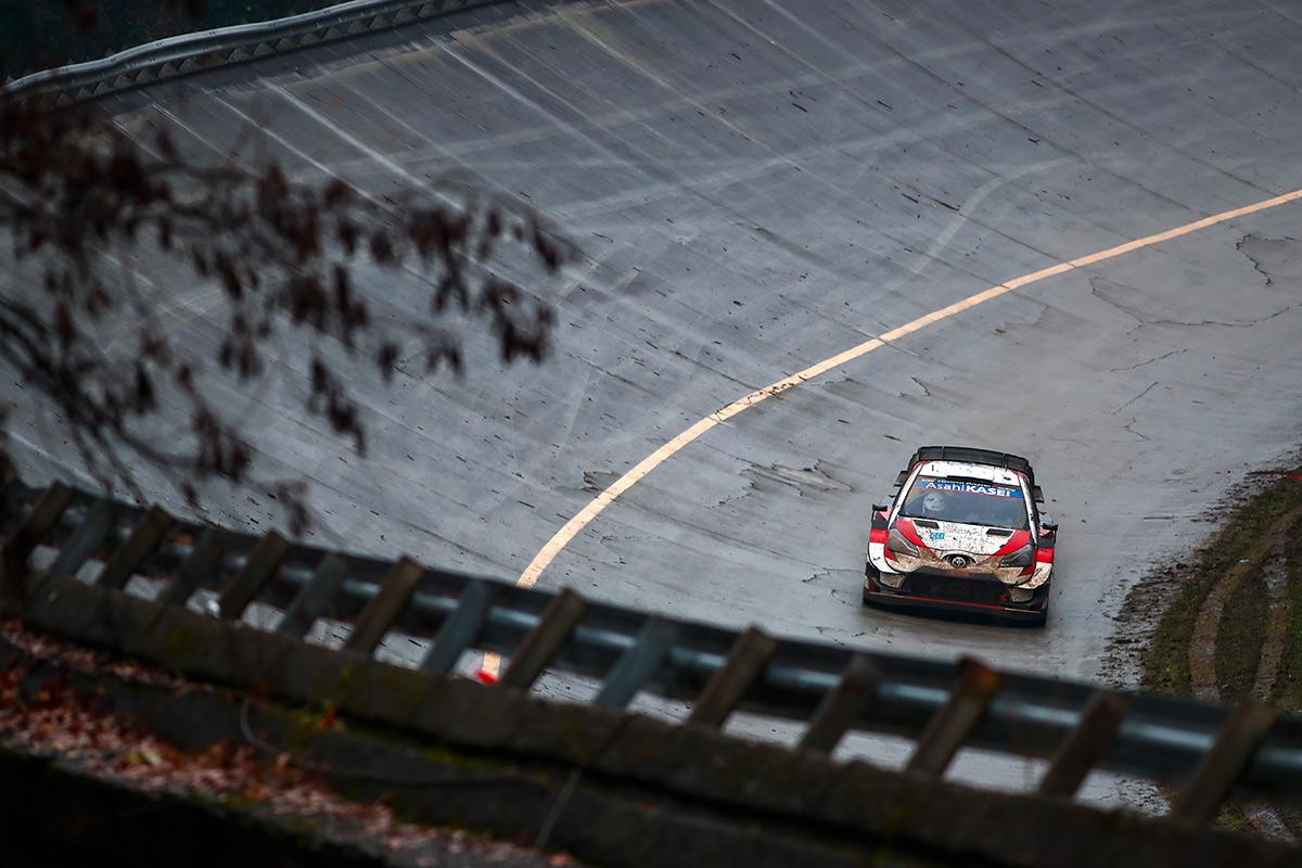 Такамото Кацута и Дэниел Бэрритт, Toyota Yaris WRC, ралли Монца 2020