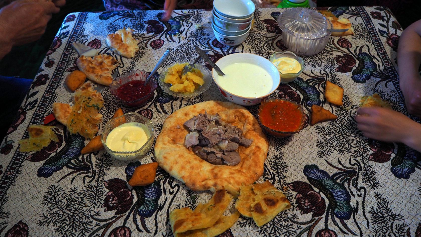 Национальная еда Кыргызов