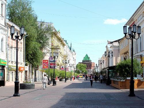 Нижний Новгород в мае