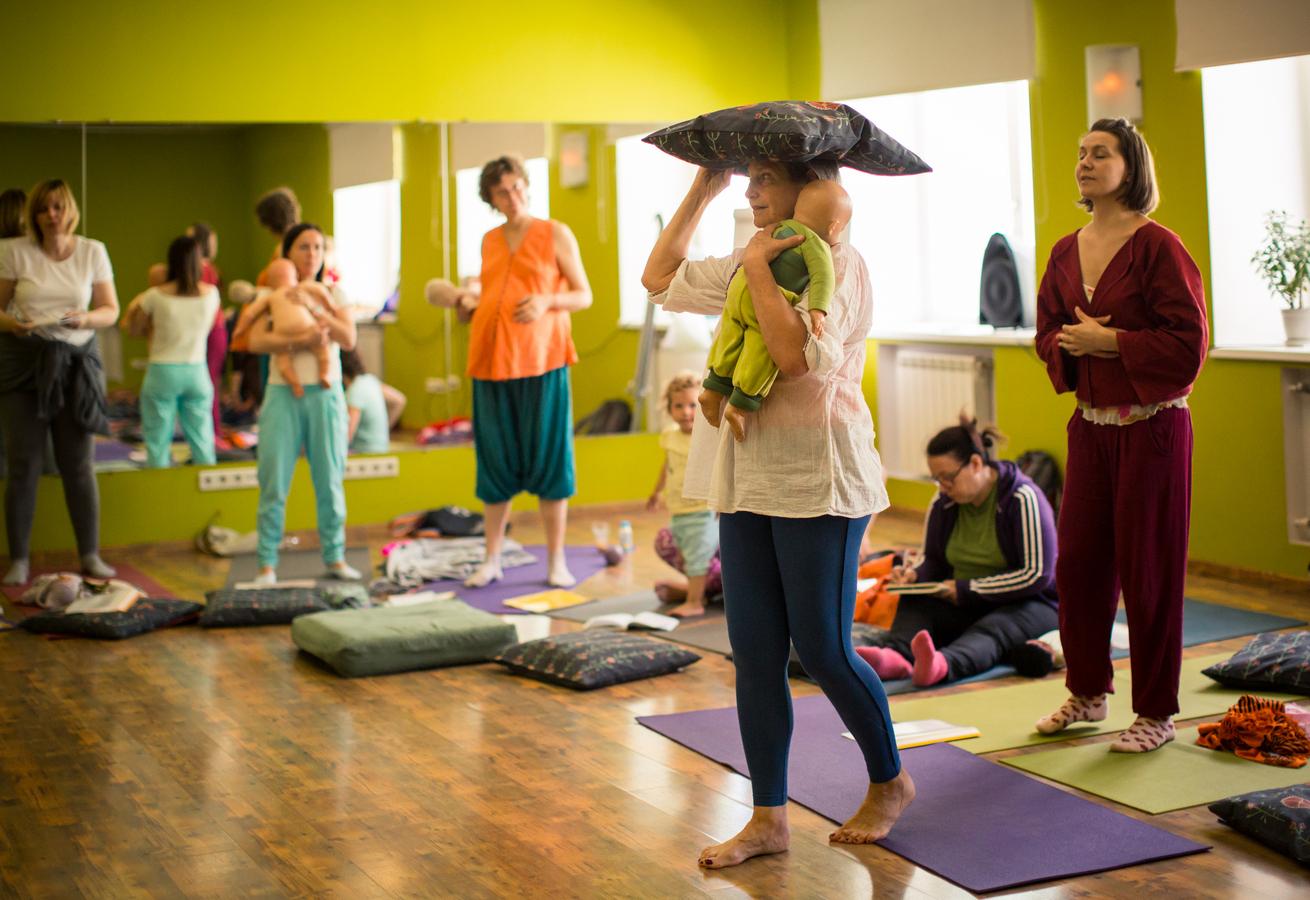 семинары по женской йоге