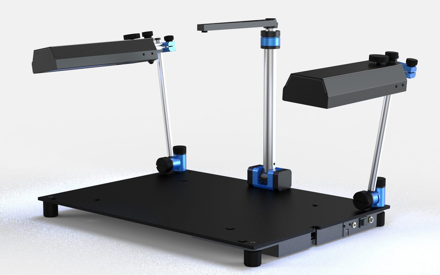Разработка конструкции репродукционной фотосистемы