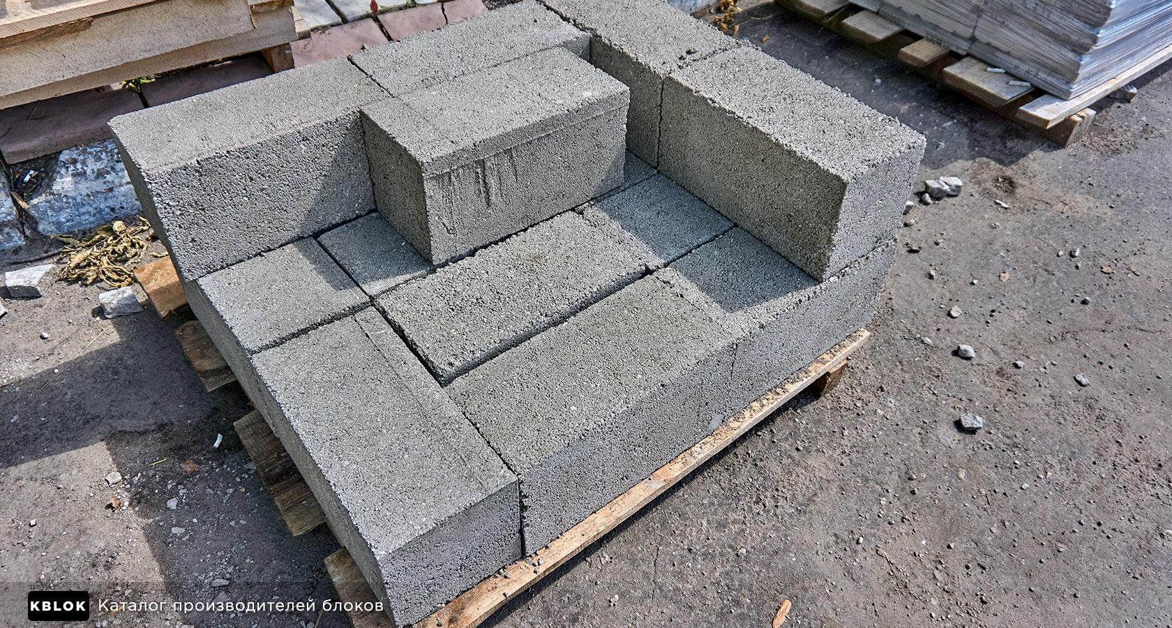 полнотелые блоки