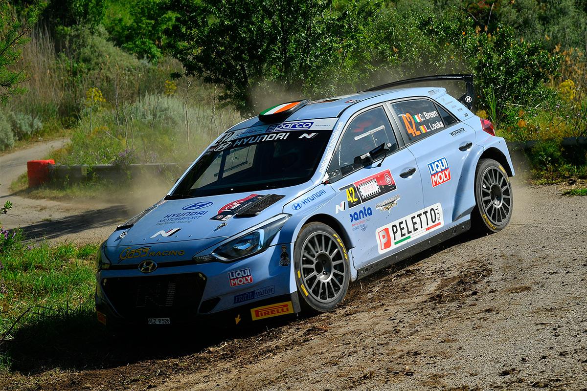 Крейг Брин и Луи Лука, Hyundai i20 R5, Rally Targa Florio 2021