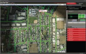 Интерфейс для диспетчеров, которые отслеживают стрельбу в городе | Sobakapav.ru
