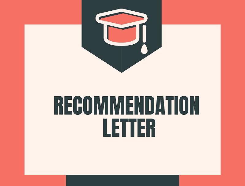 рекомендательное письмо для США
