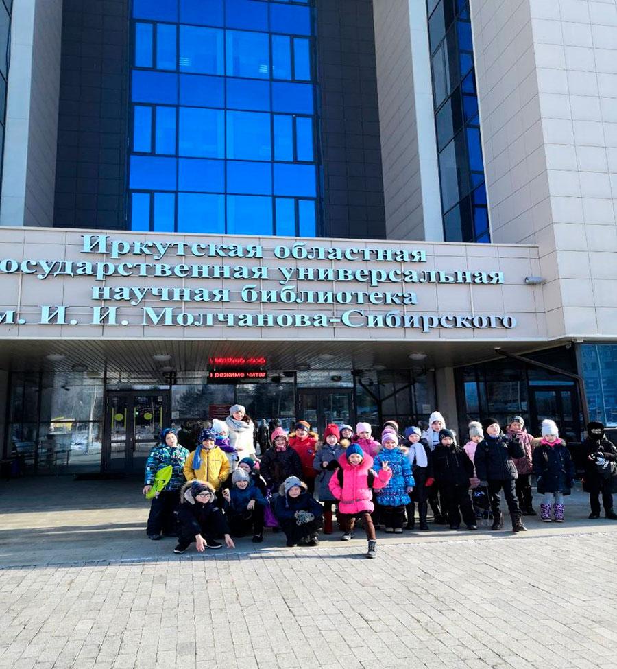 Встречи с писателями в библиотеке им. Молчанова- Сибирского