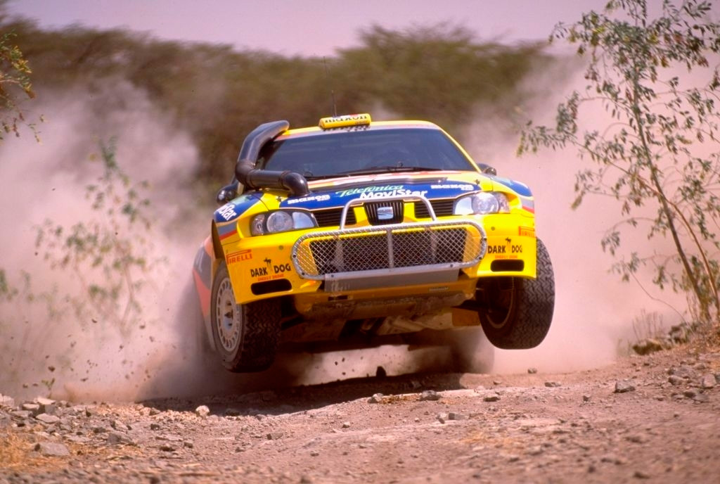 Дидье Ориоль и Дени Жироде, Seat Cordoba WRC, ралли «Сафари» 2000