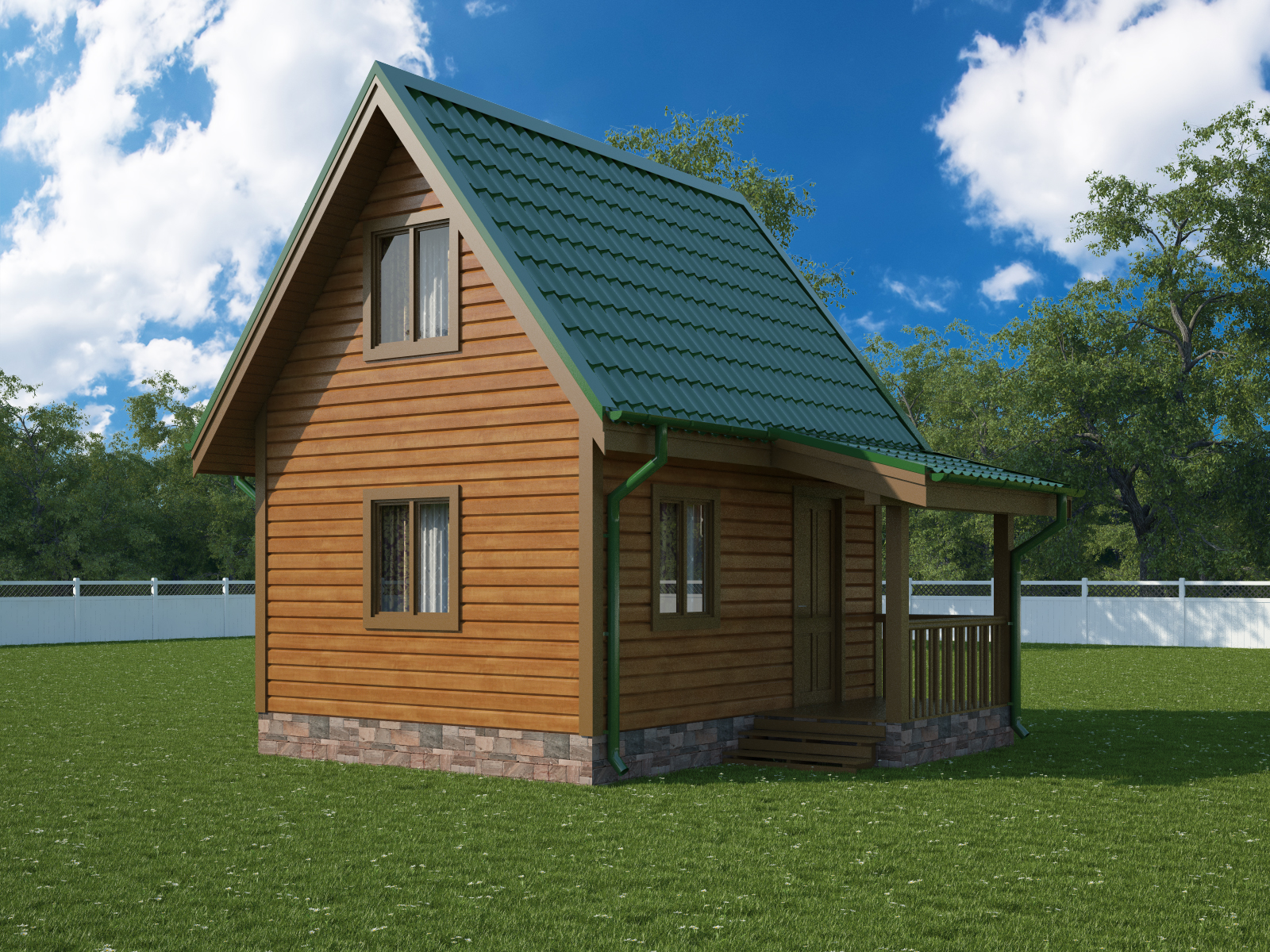 Дачные домики эконом класса фото красноярск