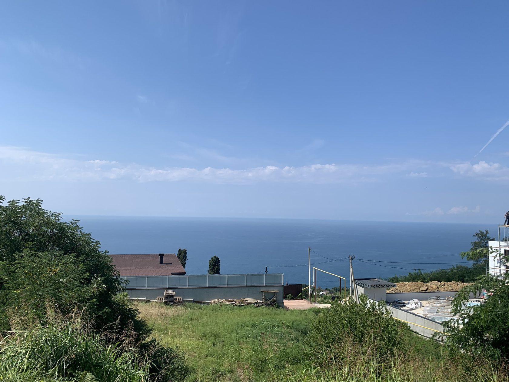 фотография, сочи, горизонт, черное море, участок, частный дом