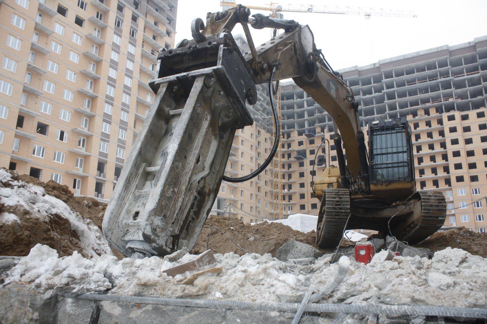 разборка бетонных конструкций