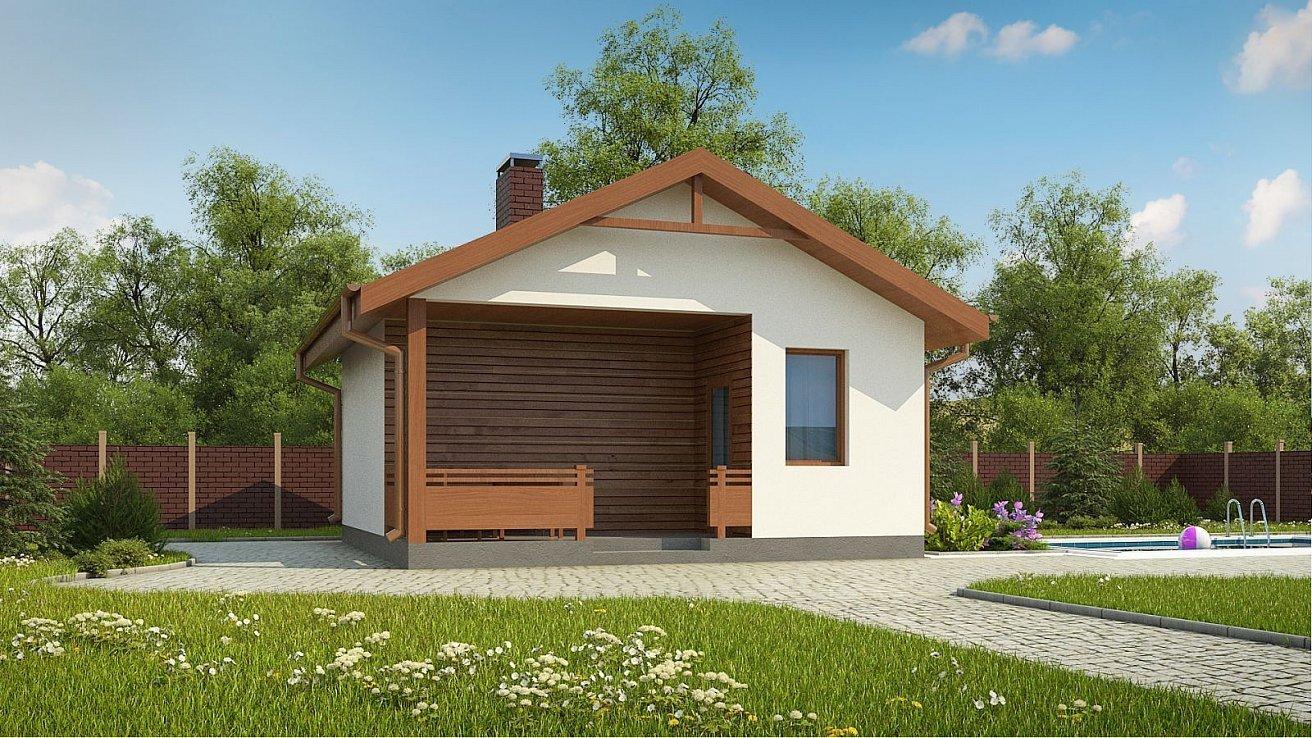 проект дома бани из блоков