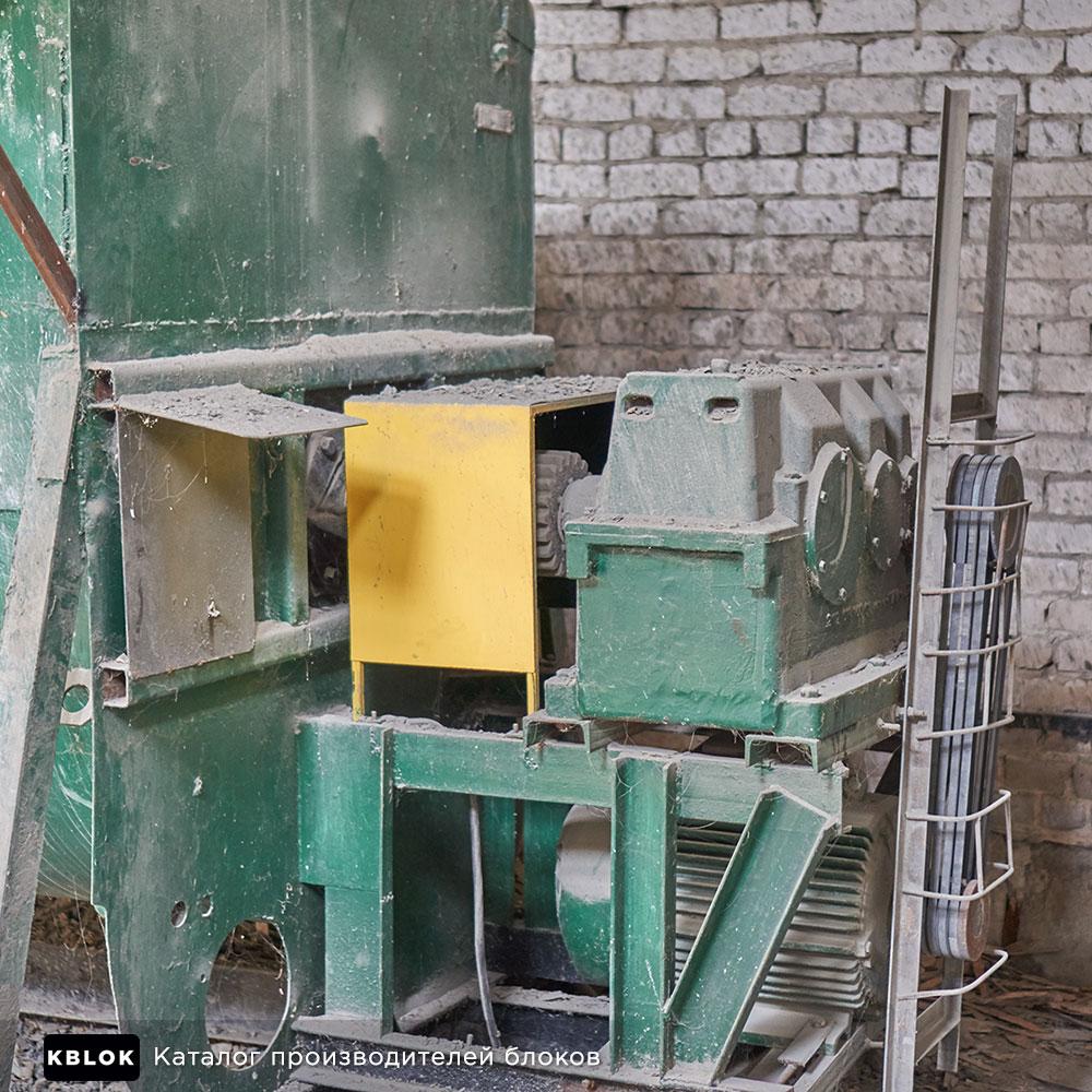 одновальный бетоносмеситель