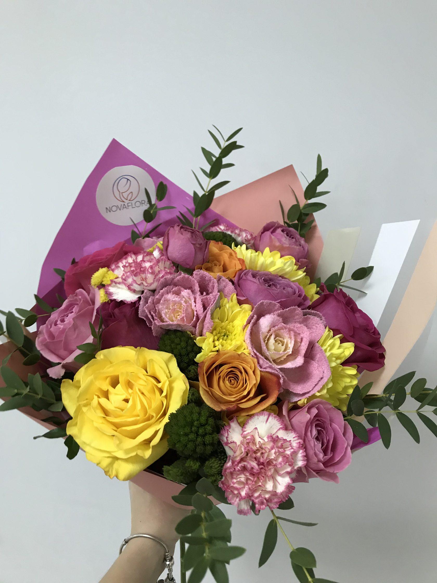 Заказать цветы с доставка в самаре круглосуточно, гербер зелени